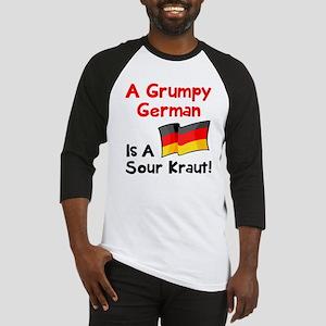 Grumpy German Baseball Jersey