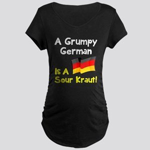 Grumpy German Maternity Dark T-Shirt