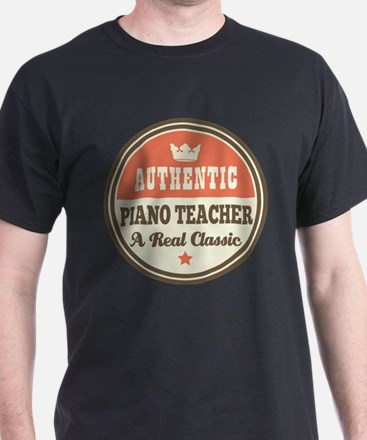 Authentic Piano Teacher T-Shirt