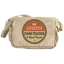 Authentic Piano Teacher Messenger Bag