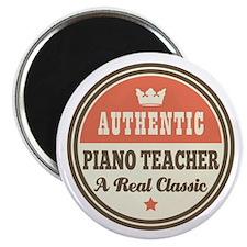 Authentic Piano Teacher Magnet
