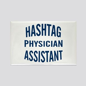 Hashtag Physician Assistant Rectangle Magnet