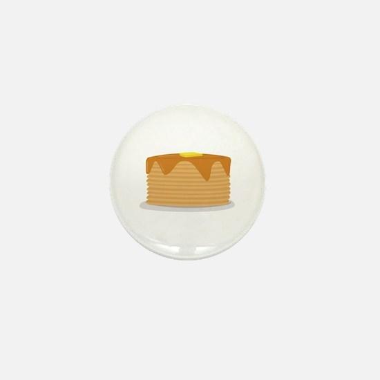 Pancake Stack Mini Button