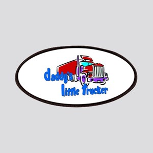 Daddy's Little Trucker - Blue Patches