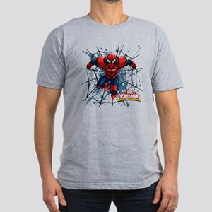 Spyder Knight Web Men's Fitted T-Shirt (dark)