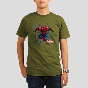 Spyder Knight Web Organic Men's T-Shirt (dark)