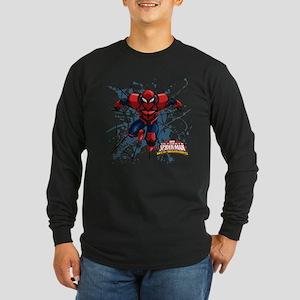 Spyder Knight Web Long Sleeve Dark T-Shirt