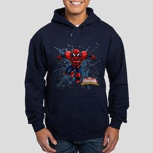Spyder Knight Web Hoodie (dark)