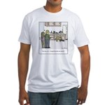 Easy Dog Training Fitted T-Shirt