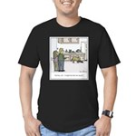 Easy Dog Training Men's Fitted T-Shirt (dark)
