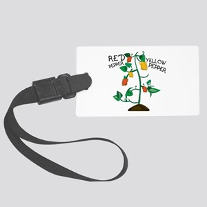 Red Pepper Luggage Tag