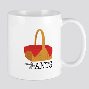 Watch Out For Ants Mugs
