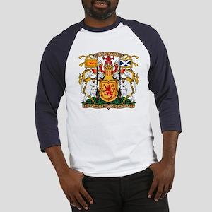 Scotland Coat of Arms Baseball Jersey