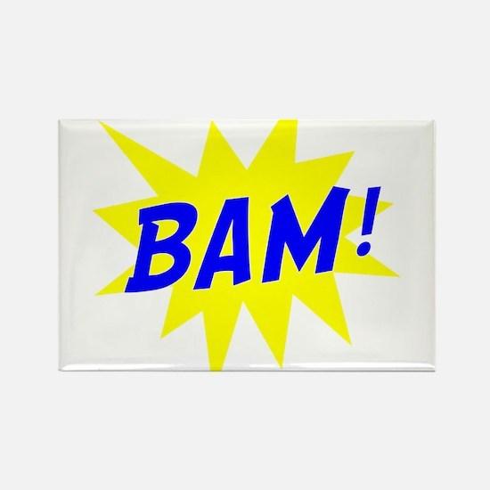 Bam! Rectangle Magnet
