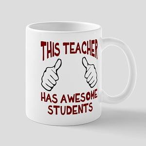 This teacher awesome students Mug