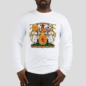 Scotland Coat of Arms Long Sleeve T-Shirt