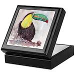 Toucan Keepsake Box