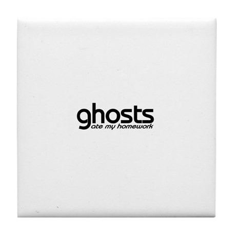 ghost stories Tile Coaster