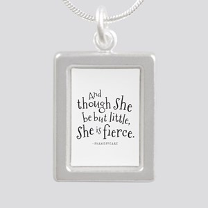 Shakespeare Though She Be But Little Necklaces