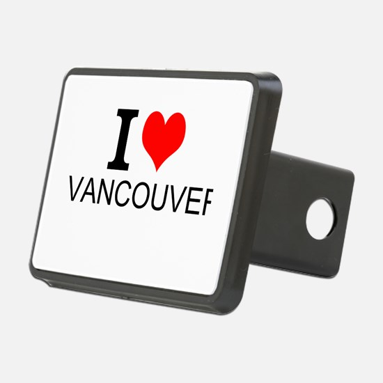I Love Vancouver Hitch Cover