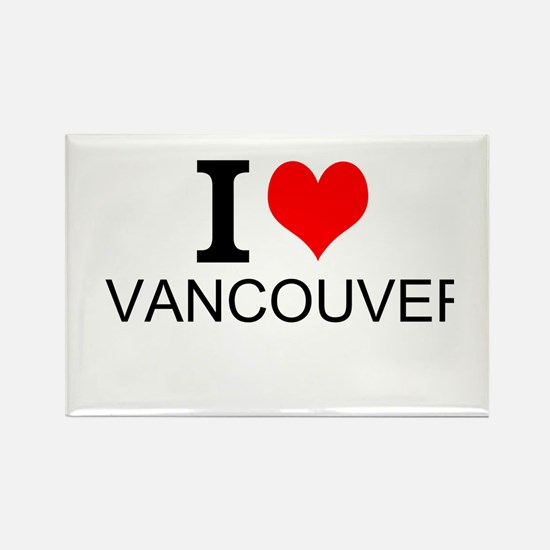 I Love Vancouver Magnets