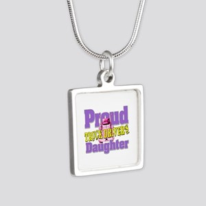 Proud Truck Drivers Daughter Necklaces