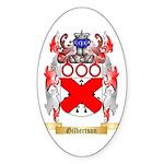 Gilbertson Sticker (Oval 50 pk)