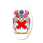 Gilbertson 35x21 Oval Wall Decal