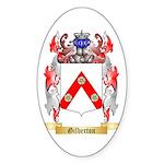 Gilberton Sticker (Oval 50 pk)