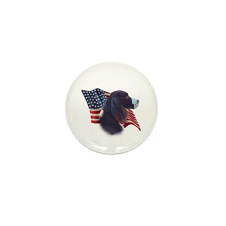 English Springer Flag Mini Button