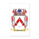 Gilbertin 35x21 Wall Decal