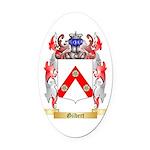 Gilbert Oval Car Magnet