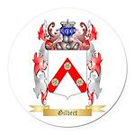 Gilbert Round Car Magnet