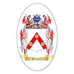 Gilbert Sticker (Oval 50 pk)