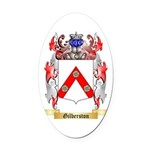Gilberston Oval Car Magnet