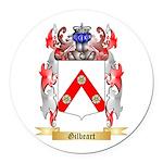 Gilbeart Round Car Magnet