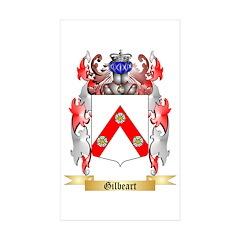 Gilbeart Sticker (Rectangle 10 pk)