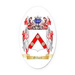 Gilbart Oval Car Magnet