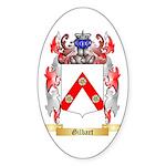 Gilbart Sticker (Oval 50 pk)