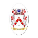 Gilbart 35x21 Oval Wall Decal