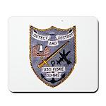 USS FISKE Mousepad