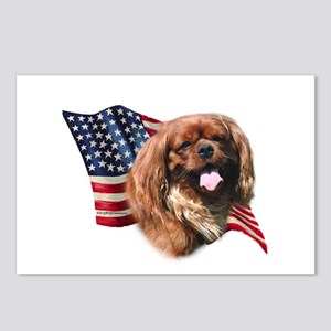 English Toy Flag Postcards (Package of 8)