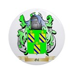 Gil Ornament (Round)