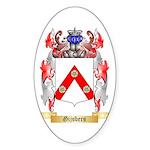 Gijsbers Sticker (Oval 10 pk)