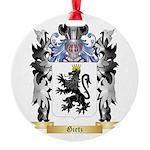 Gietz Round Ornament