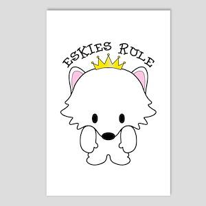 American Eskimo Dogs Eski Postcards (Package of 8)