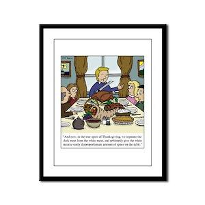 Spirit of Thanksgiving Framed Panel Print
