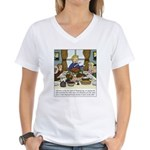 Spirit of Thanksgiving Women's V-Neck T-Shirt