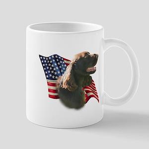Field Spaniel Flag Mug