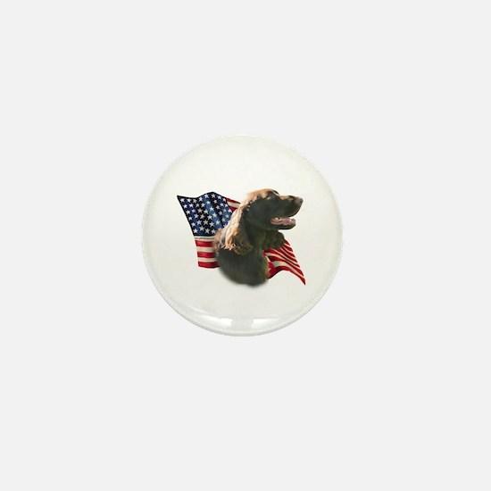 Field Spaniel Flag Mini Button